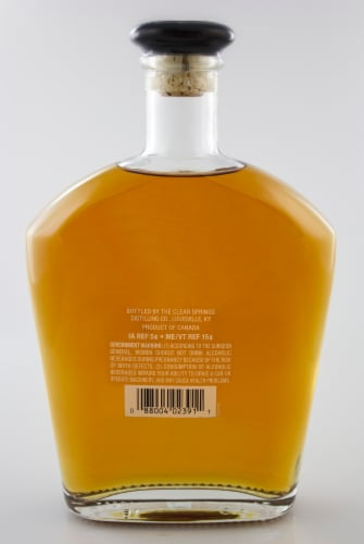 Eighteen 67 Master Distilled Blended Canadian Whisky Perspective: back