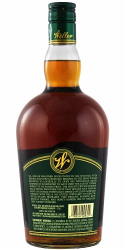 W. L. Weller Special Reserve Kentucky Straight Bourbon Whiskey Perspective: back