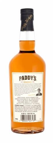Paddy Old Irish Whiskey Perspective: back