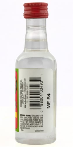 99 Brand Watermelons Liqueur Perspective: back