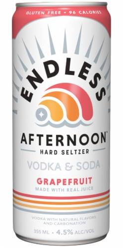 Endless Summer Afternoon Grapefruit Vodka Soda Perspective: back