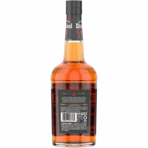 George Dickel No. 8 Tennessee Sour Mash Whiskey Perspective: back
