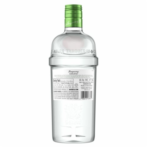 Tanqueray Rangpur Distilled Gin Perspective: back