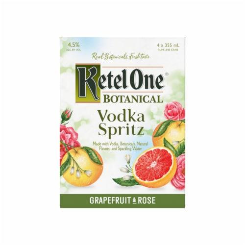 Ketel One Botanical Grapefruit & Rose Vodka Spritz Perspective: back