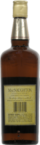 MacNaughton Blended Canadian Whisky Perspective: back