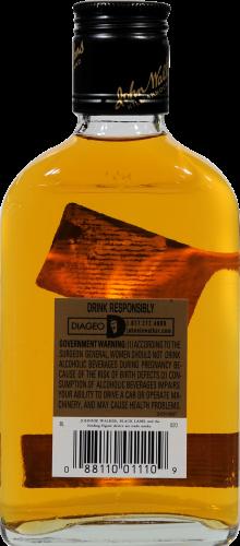 Johnnie Walker Black Label 12 Year Blended Scotch Whisky Perspective: back