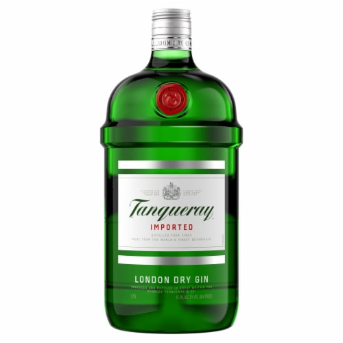 Tanqueray London Dry Gin Perspective: back