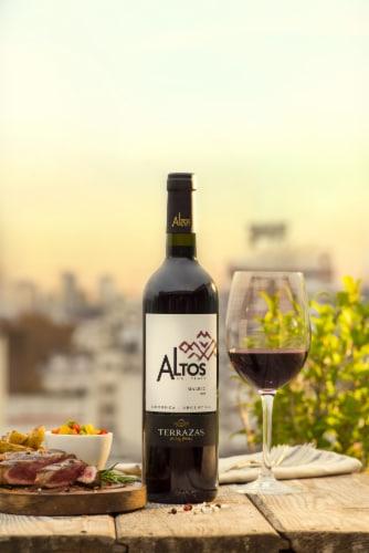 Terrazas de los Andes Altos del Plata Malbec Perspective: back