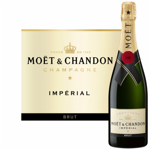 Moet & Chandon Imperial Brut Champagne Perspective: back