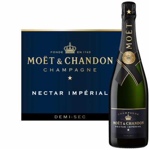 Moet & Chandon Nectar Imperial Champagne Perspective: back