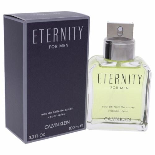 Eternity by Calvin Klein for Men - 3.3 oz EDT Spray Perspective: back