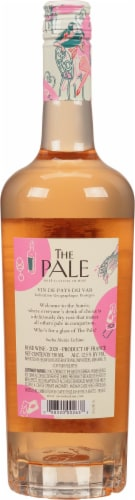 The Pale by Sacha Lichine Rose Wine Perspective: back