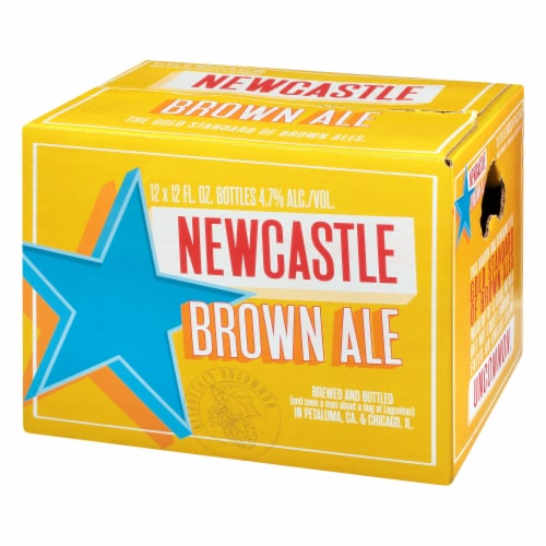 Newcastle Brown Ale Perspective: back