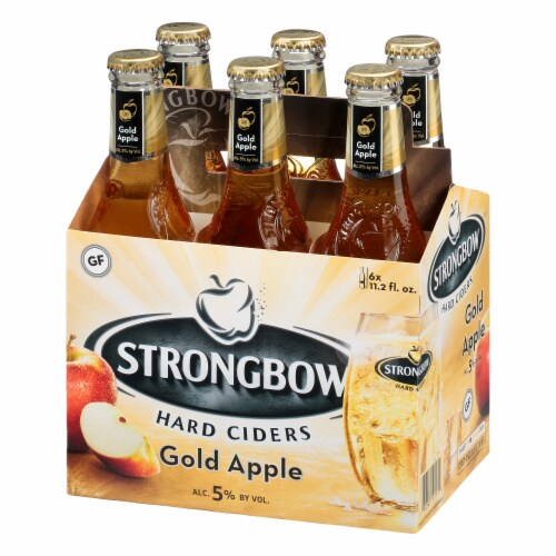 Strongbow Gold Apple Hard Cider Perspective: back