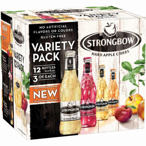 Strongbow Hard Apple Ciders Variety Pack Perspective: back