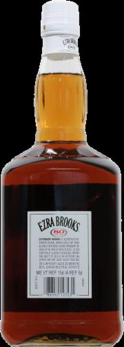 Ezra Brooks Blended Whiskey Perspective: back