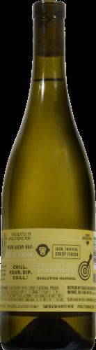 Evolution White Wine Perspective: back