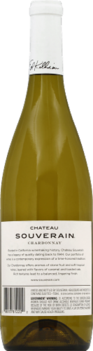 Chateau Souverain Chardonnay White Wine Perspective: back