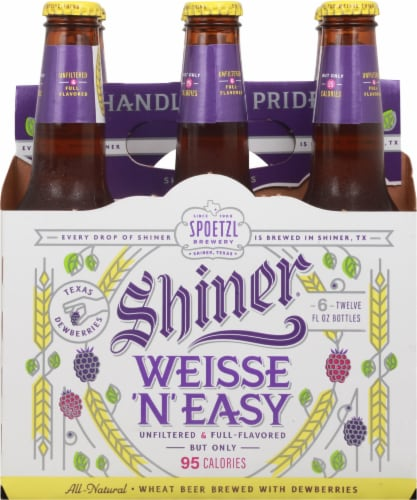 Shiner® Weisse 'N' Easy Wheat Beer Perspective: back