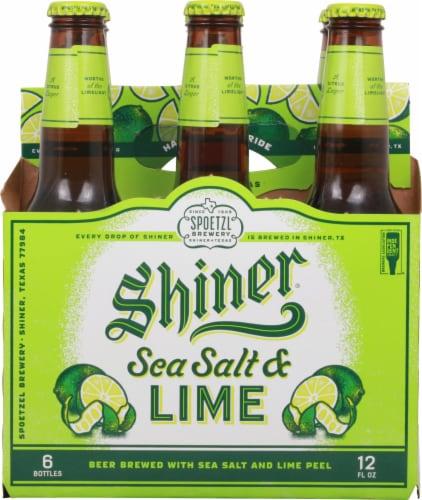 Shiner® Sea Salt & Lime Beer Perspective: back