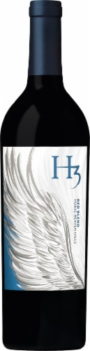H3 Red Blend Red Wine Perspective: back