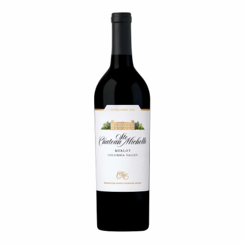 Chateau Ste. Michelle Merlot Red Wine Perspective: back