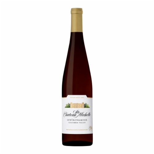 Chateau Ste. Michelle Gewurztraminer Perspective: back