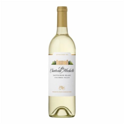 Chateau Ste Michelle Sauvignon Blanc White Wine Perspective: back