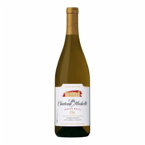 Chateau Ste Michelle Indian Wells Chardonnay White Wine Perspective: back