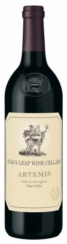 Stag's Leap Artemis Cabernet Sauvignon Red Wine Perspective: back