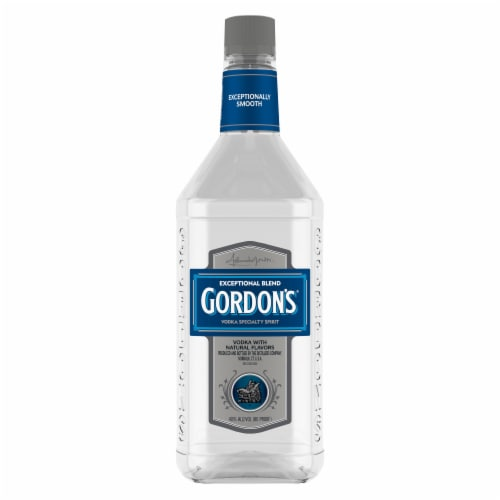 Gordon's Exceptional Blend (Vodka with Natural Flavors) Perspective: back