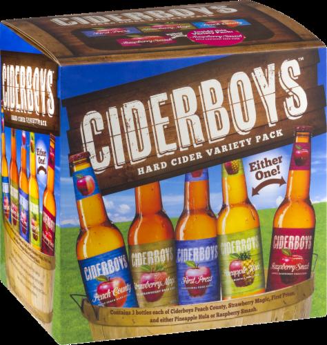 Cider Boys Hard Cider Variety Pack Perspective: back