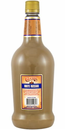 Chi-Chi's White Russian Premade Cocktail Perspective: back