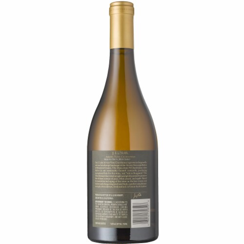 J. Lohr Arroyo Vista Chardonnay White Wine Perspective: back