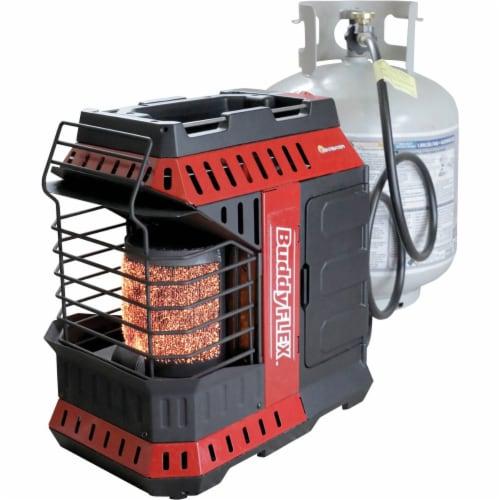 Mr. Heater 11,000 BTU Buddy FLEX Liquid Propane Portable Radiant Space Heater Perspective: back