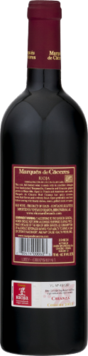 Marques de Caceres Rioja Red Perspective: back