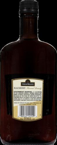 Hiram Walker Blackberry Brandy Perspective: back