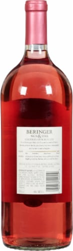 Beringer Pink Moscato Perspective: back
