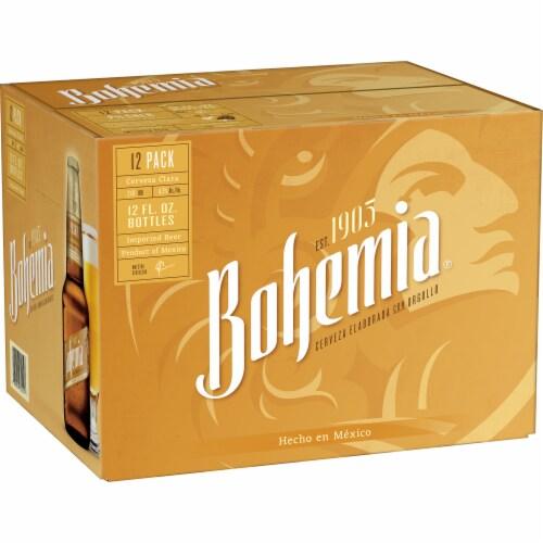 Bohemian Brewery German Pilsner Imported Beer Perspective: back