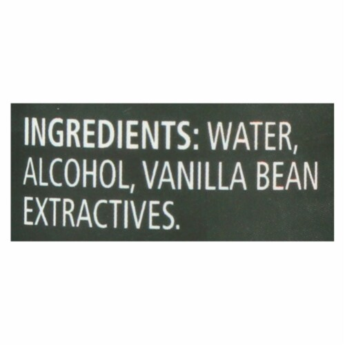 Frontier All Natural Vanilla Extract Perspective: back