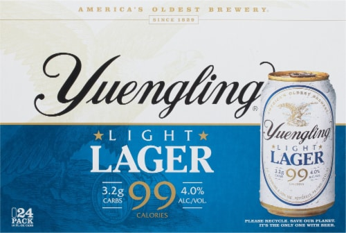 Yuengling® Light Lager Perspective: back