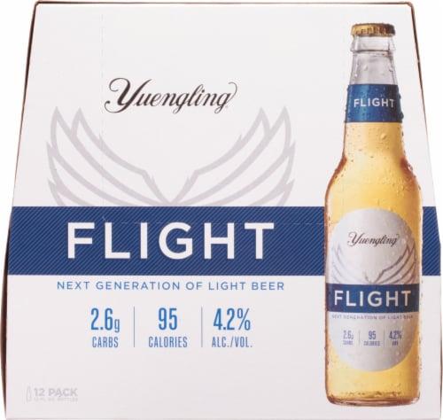 Yuengling® Flight Light Beer Perspective: back