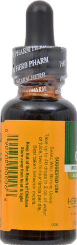 Herb Pharm Olive Leaf Herbal Supplement Perspective: back