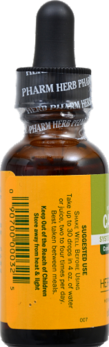 Herb Pharm Cayenne Herbal Supplement Perspective: back