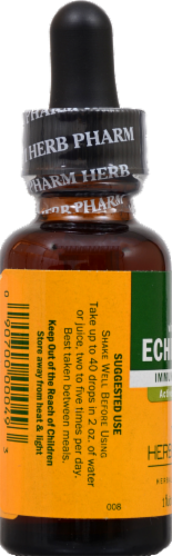 Herb Pharm Echinacea Herbal Supplement Perspective: back