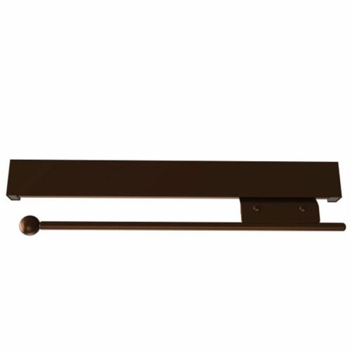 Rev-A-Shelf Sidelines CVRSL-14-BZ-1 Extendable Deluxe Sliding Valet Rod, Bronze Perspective: back
