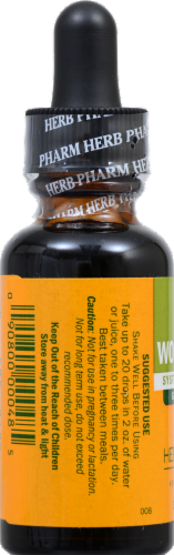 Herb Pharm Wormwood Herbal Supplement Perspective: back