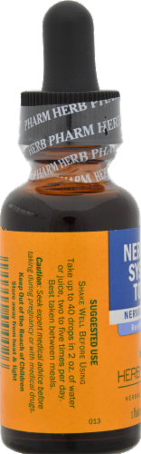 Herb Pharm Nervous Systems Tonic Perspective: back