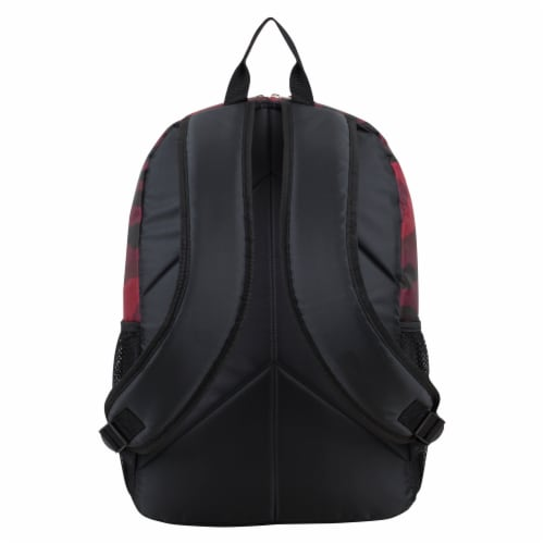 Fuel Triple Decker Backpack - Red Army Camo Perspective: back