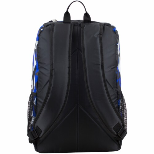 Fuel Wide Mouth Bungee Backpack - Cobalt Splash/Clear Perspective: back